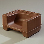 Carlisle Foodservice Products Brown Cateraide Dual Booster Seat