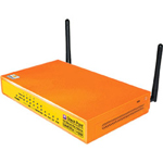 Check Point Software Safe Office 500W Wireless UTM - Security Appliance - 25 Users - EN, Fast EN, 802.11b, 802.11g, 802.11 Super G