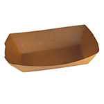 SQP Food Tray #300 Kraft Plain