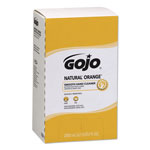 Gojo Natural Orange Smooth Lotion Hand Cleaner, 2000 ml Bag-in-Box Refill, 4/Carton