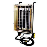 TPI Corporation PORTABLE INFRARED HEATER240/3 PHASE 6000 WATT