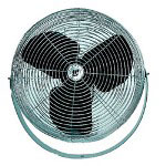 "TPI Corporation 18"" 3-speed Work Stationfan 1-phase 115"