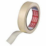 Tesa Tapes Economy Grade Masking Tapes, 2 in X 60 yd, 5.2 mil, Cream