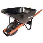 Union Tools 6cu.ft. 1.0 mm Tray Wheelbarrow 99619 99182 99101