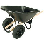 Union Tools 8 Cu.ft. Poly Wheel Barrow C/o 99629 99101 99170