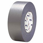 Intertape Utility Grade PET/PE Duct Tapes, Silver, 48 mm x 54.8 m