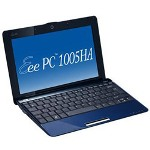 "Asustek Eee PC 1005HA Seashell - Atom N270 1.6 GHz - 10.1"" TFT"