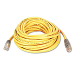 Belkin Crossover Cable - RJ45 (M) - RJ45 (M) - 25' - UTP - (CAT 5E) - Yellow
