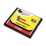 ACP-EP Memory Extreme Performance 120X - Flash Memory Card - 512 MB - CompactFlash