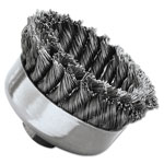 Weiler SR-4 General-Duty Knot Wire Cup Brush, .023