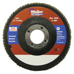 Weiler 4-1/2X5/8-11 Z3-60 T29 ULTIMATE FLAP DISC