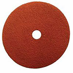 Weiler Saber Tooth Ceramic Resin Fiber Discs, 4 1/2 in Dia., 36 Grit