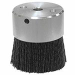 Weiler Burr-Rx Mini Disc Brush, Ceramic, 4,500 rpm, 2in x 0.055