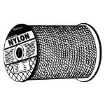 "Wellington Rope 1/4"" x 500' Solid Braid Nylon"