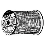 "Wellington Rope 5/8"" x 600' Twisted yellow Polypropylene"