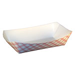 SQP Food Tray #1000 Red Plaid