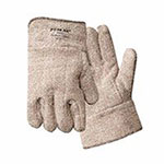 Wells Lamont High Heat Welding Gloves, Terry Cloth, X-Large, Brown and White