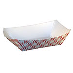 SQP Food Tray #100 Red Plaid