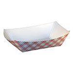 SQP Food Tray #200 Red Plaid