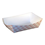 SQP Food Tray #300 Red Plaid