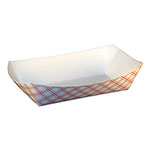 SQP Food Tray #500 Red Plaid