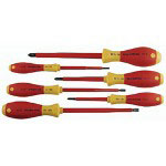 Wiha Tools 6 Piece Electrician Insulated Screwdriver