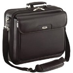 "Targus CLN5US 15.4"" Traditional Leather Notebook Case Notebook Carrying Case, Black"
