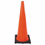 Cortina PVC Traffic Cone, 28 in, Orange