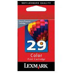 Lexmark 0018C1429 Color Print Cartridge No. 29, Cyan, Magenta, Yellow
