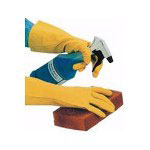 Impact 8430M Deluxe Flock Lined Latex Gloves, Medium