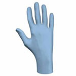 Showa N-Dex Disposable Nitrile Gloves, 4 mil, X-Large, Blue
