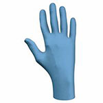 Showa Best Disposable Nitrile Gloves, Powder-Free, 4 mil, X-Large, Blue