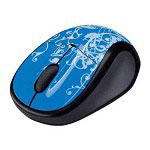 Logitech V220 Cordless Optical Mouse for Notebooks - mouse