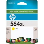 HP 564XL Yellow Ink Cartridge ,Model CB325WN140 ,Page Yield 750