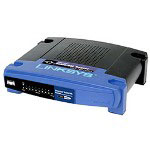 Linksys EtherFast Cable/DSL Router w/8-Port Switch BEFSR81 - Router + 8-port Switch - EN, Fast EN