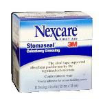 "3M Stomaseal Colostomy Dressing, 4"" x 4"", Box Of 30"