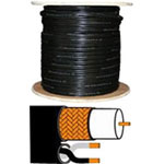 DPS Power/video Cable - Bare Wire - Bare Wire - 500' - Coaxial