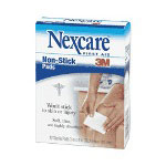 "Nexcare Non-Stick Pad, 2"" x 3"", Sterilized"