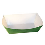 SQP Food Tray #200 Solid Green