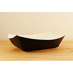 SQP Food Tray #300 Solid Black