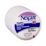 "Nexcare Transpore Clear Tape, 2"" x 10 Yards, Carded"