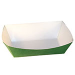 SQP Food Tray #500 Solid Green