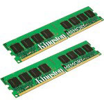 Kingston 4 GB Memory (2 x 2 GB), DIMM 240-pin, DDR II, 667 MHz, Unbuffered
