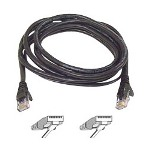 Belkin High Performance Patch Cable RJ45 (M) RJ45 (M) 25' UTP (CAT 6) Black