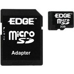 Edge Flash Memory Card (SD Adapter Included) - 2 GB - MicroSD