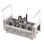 Cambro Flatware Camrack with Holder, Gray