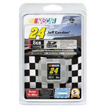 Centon NASCAR Jeff Gordon - Flash Memory Card - 8 GB - SDHC