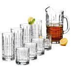Anchor Hocking 8 pc. Crystal Delight Beverageware with Bonus Matching Pitcher