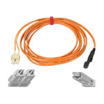 Belkin Patch Cable - MT-RJ Multi-mode (M) - SC Multi-mode (M) - 3' - Fiber Optic - 62.5 / 125 Micron - Orange