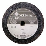 Bee Line Abrasives Resin Bonded Abrasives Without Safety Back, 6in, 5/8-11 Arbor, Aluminum Oxide